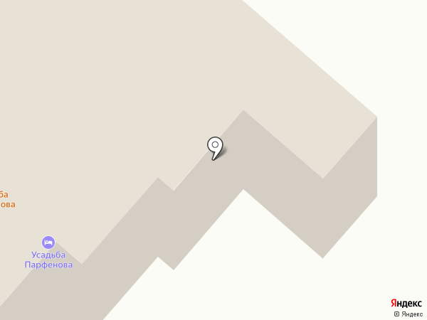 Усадьба Парфенова на карте Каменномостского