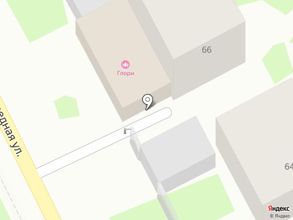 Глори на карте Сочи