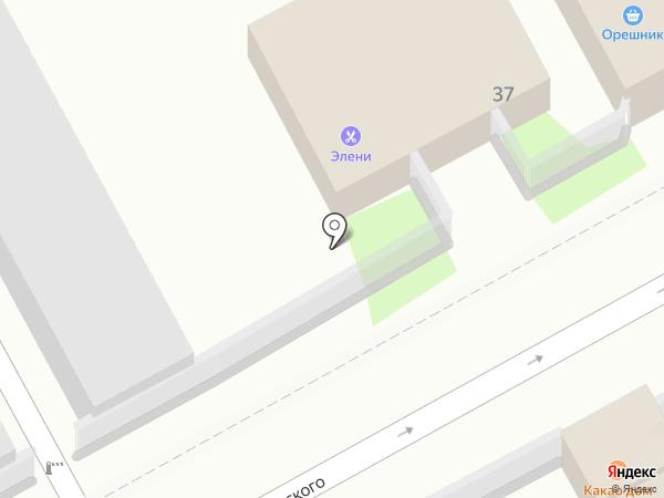 Элени на карте Сочи