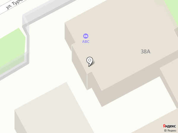 ABC-Hostel на карте Сочи