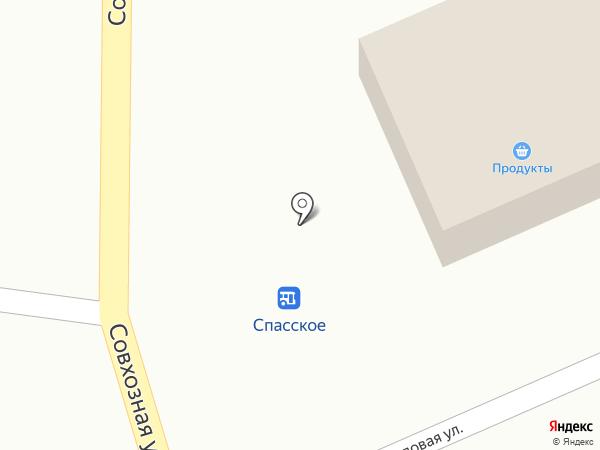 Магазин продуктов на Садовой, 1а на карте Владимира