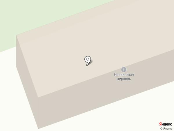 Церковь Николая Чудотворца в Спасском на карте Владимира