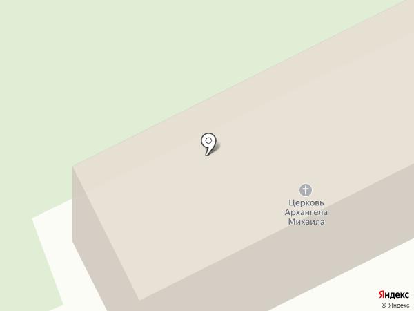 Церковь Михаила Архангела в Спасском на карте Владимира