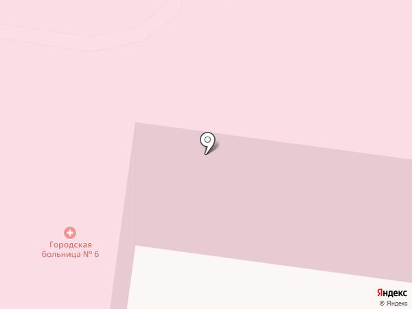 Городская больница №6 на карте Владимира