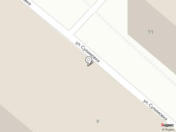 AYS Hostel на карте Сочи