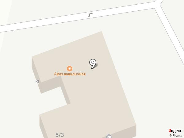 Араз-шашлычная на карте Владимира