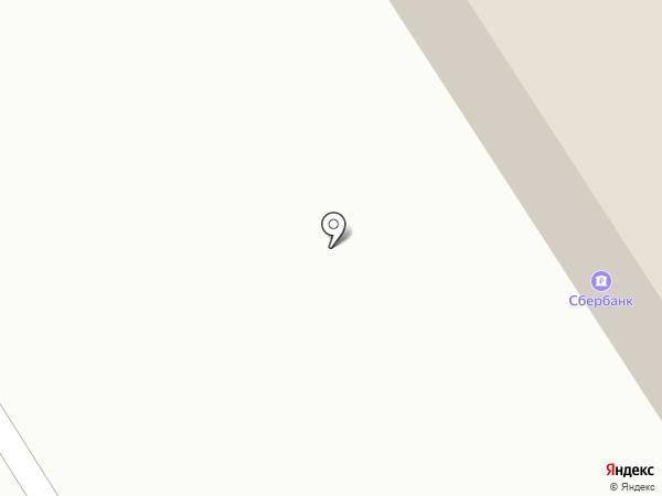 Витязь на карте Архангельска