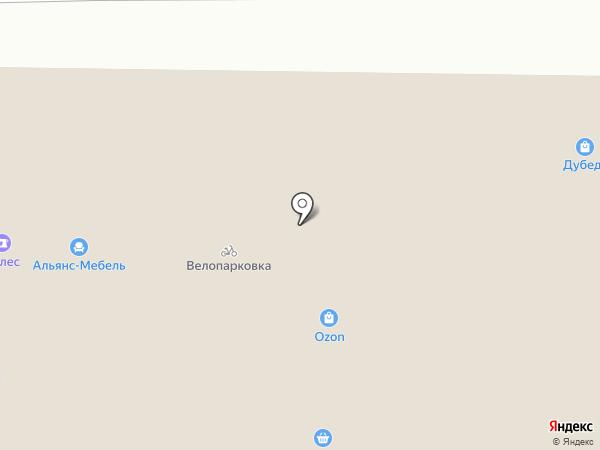 Магазин товаров для дома на карте Владимира