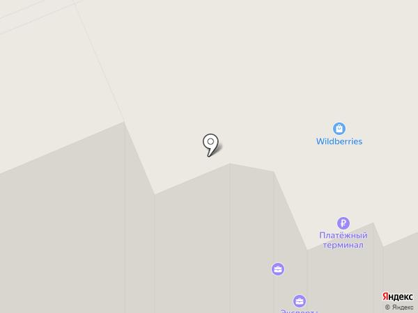 Ле-Строй на карте Владимира