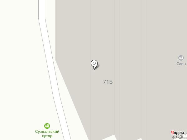 Планета Строй на карте Владимира
