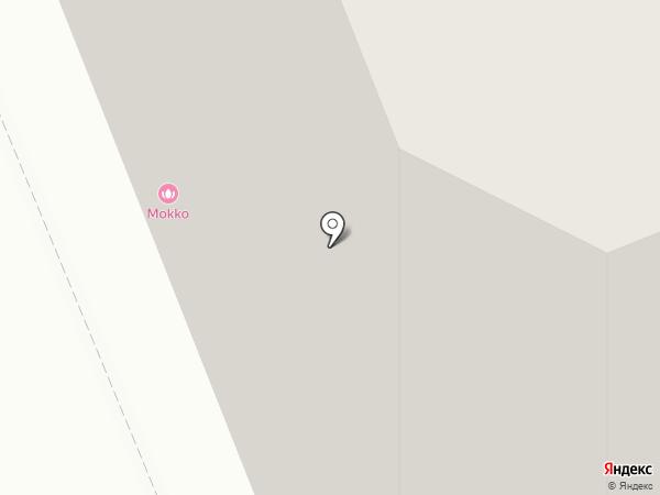 Двери на Ставровской на карте Владимира