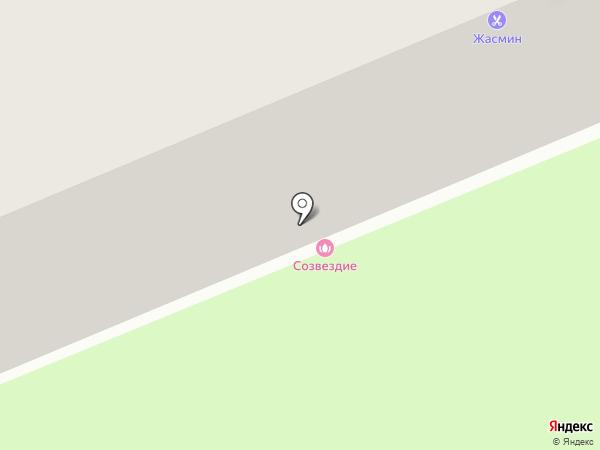 Здравия на карте Владимира