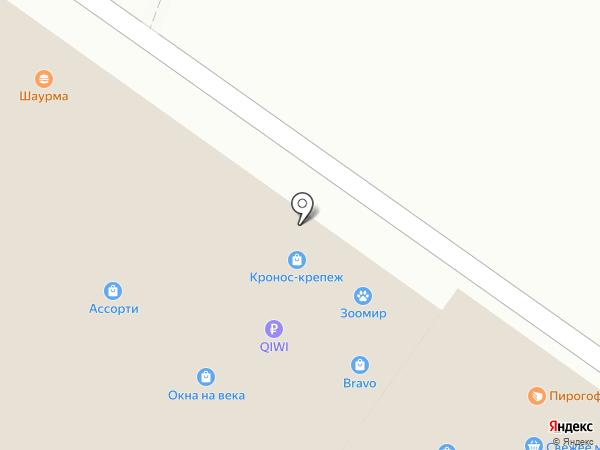 Аллегра на карте Владимира