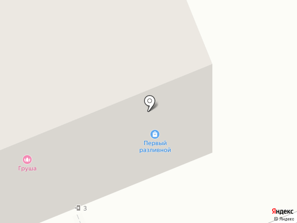 Магазин разливного пива на карте Владимира