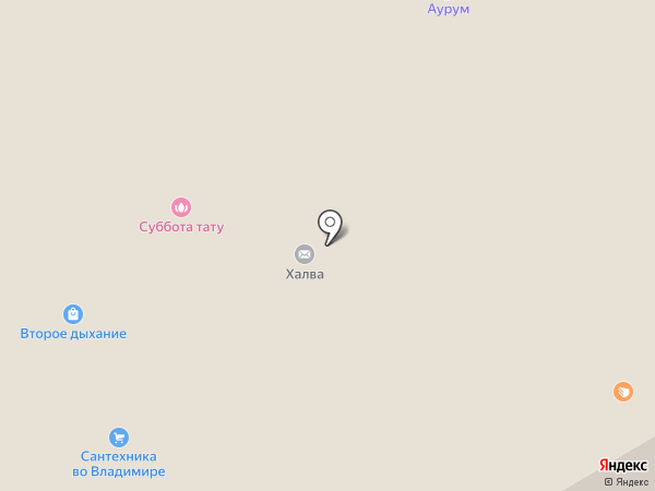 Банкомат, МКБ Москомприватбанк на карте Владимира