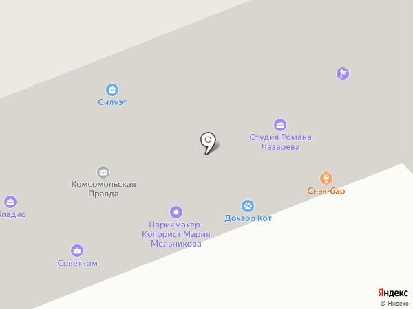 Медицинский Центр Палитра на карте Владимира