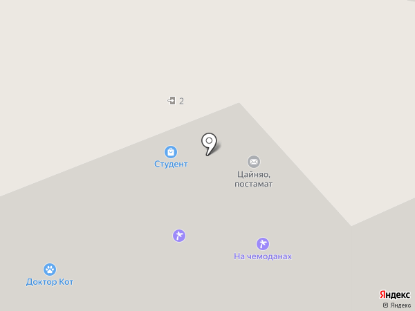 Бистро СНЭК-БАР на карте Владимира