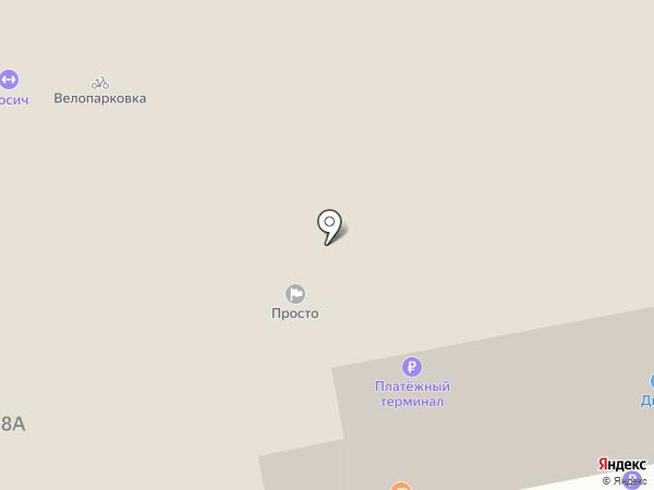 Дикси на карте Владимира