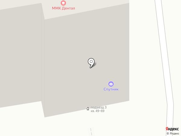 Чистюля-Красотуля на карте Владимира