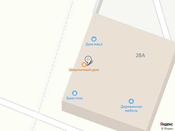 Бристоль на карте Владимира