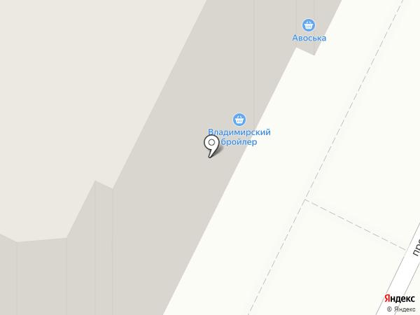 Билайн на карте Владимира