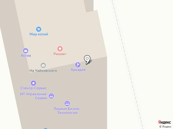 Риком+ на карте Владимира