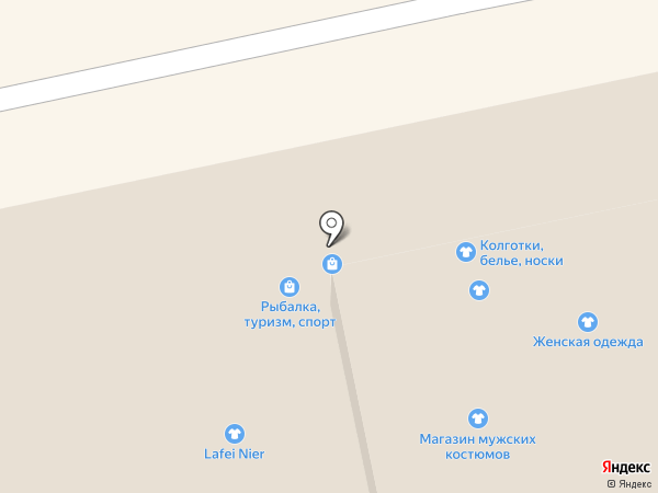 Магазин рыболовных товаров на карте Владимира