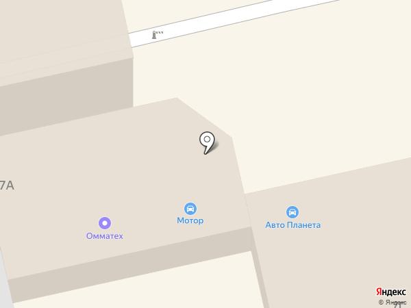 Автостандарт на карте Владимира