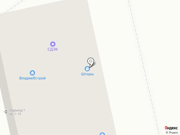 Салон оконного дизайна на карте Владимира