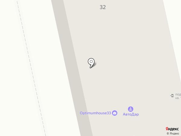 ASK сервис на карте Владимира