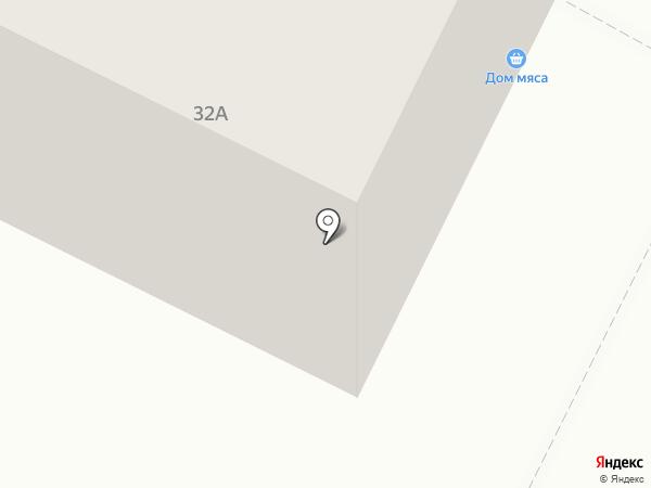 Мясной дворик на карте Владимира