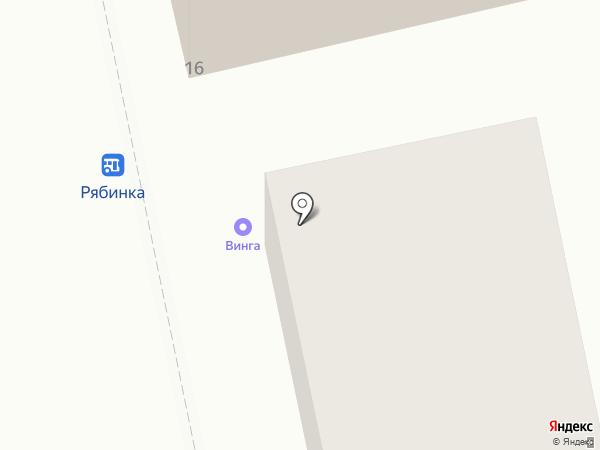 Винга на карте Владимира