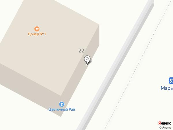 Цветочный рай на карте Владимира