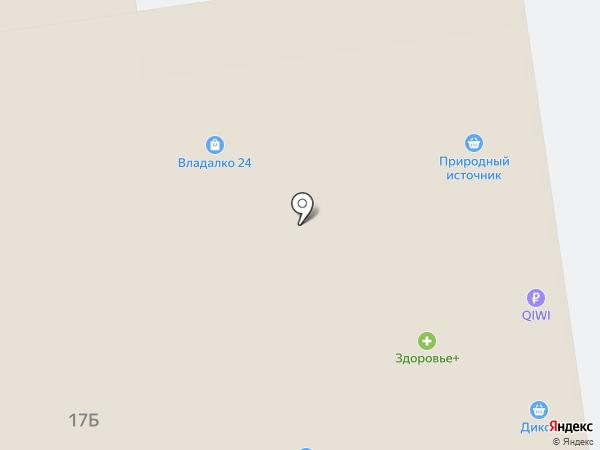 Магазин женской одежды на карте Владимира