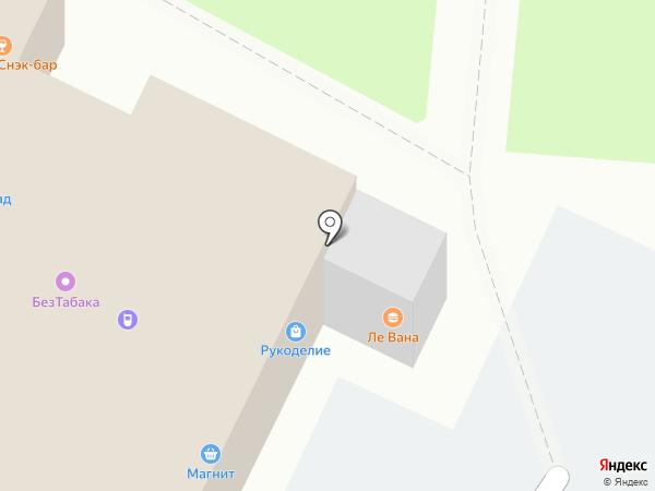 Магазин рукоделия на карте Владимира