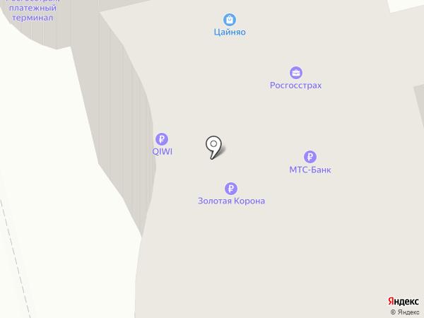 Росгосстрах банк, ПАО на карте Владимира