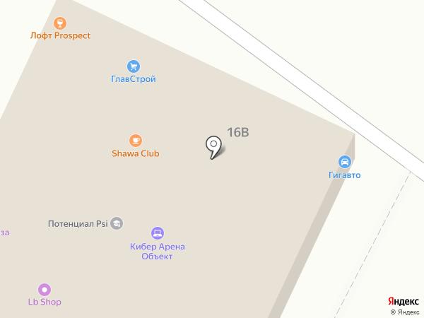 Магазин мужской одежды на карте Владимира