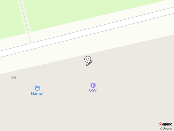 Магнит на карте Владимира