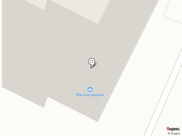 Магазин фруктов и овощей на карте Владимира