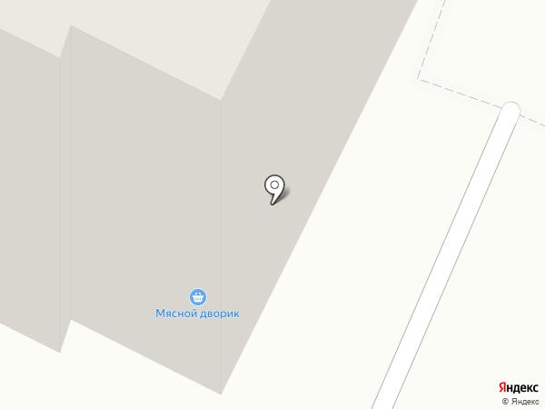 Магазин белорусских колбас на карте Владимира