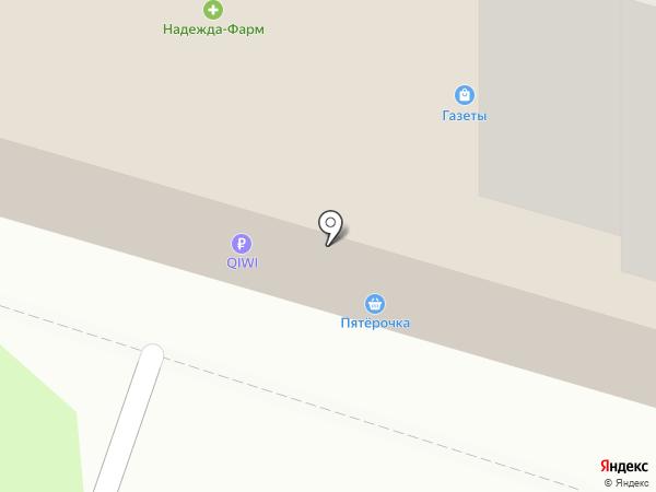 Центральная на карте Владимира