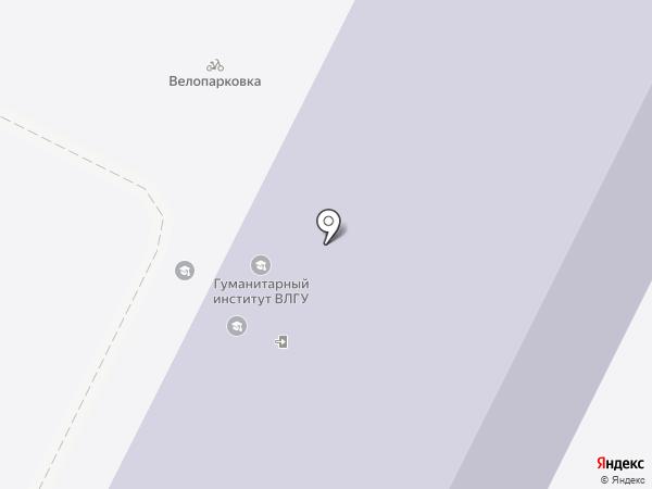 Владимирский государственный университет им. А.Г. и Н.Г. Столетовых на карте Владимира