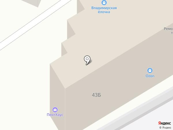 Инженер-Строитель на карте Владимира
