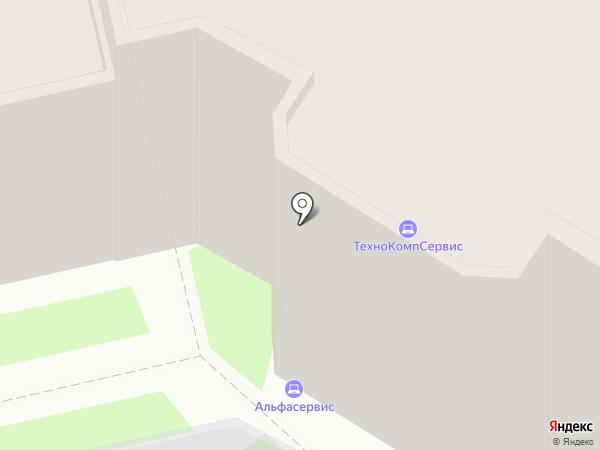 Альфасервис на карте Владимира
