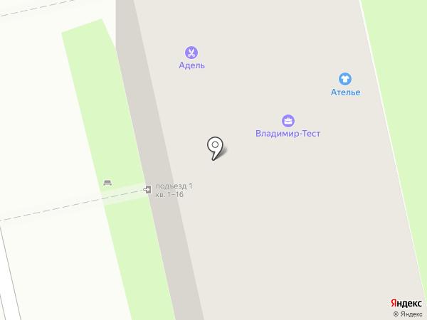 Соседдушка на карте Владимира