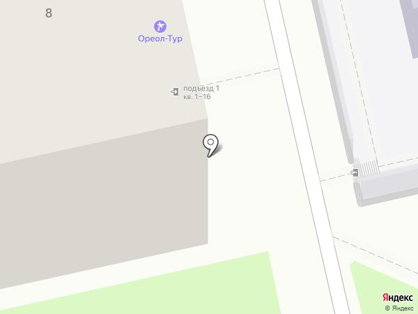 Павлин на карте Владимира
