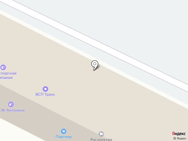 Транспортная компания на карте Владимира