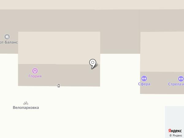 Стрела и Болт на карте Владимира