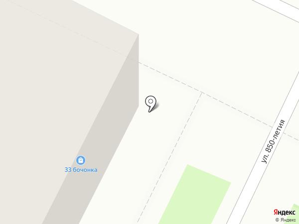 33 бочонка на карте Владимира