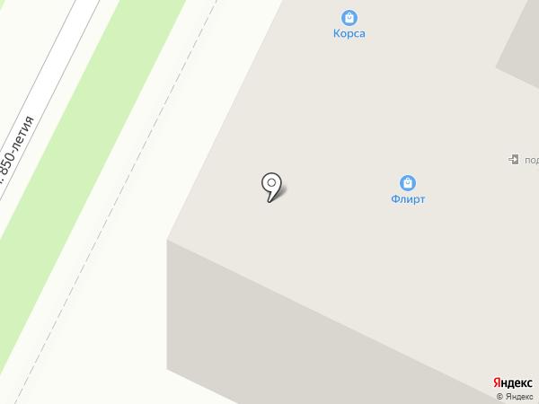 Флирт на карте Владимира